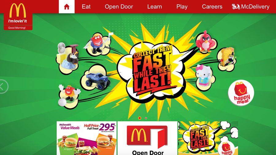 Localised-Websites---McDonald's-Pakistan
