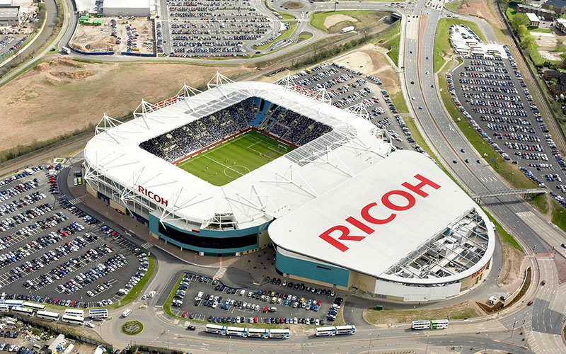 Ricoh-Arena - translation services